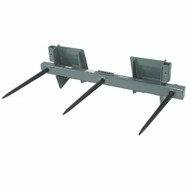 "Square Bale Spear - 42"" (3 tines) 4000 lb. capacity"