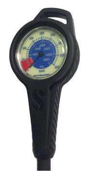 Scubapro Dual Pressure Gauge with Boot/Hose