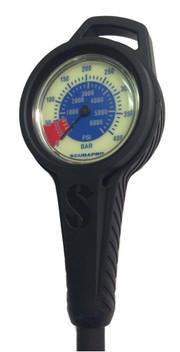 Scubapro Dual Pressure Gauge with Boot/Hose