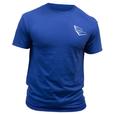 Royal Blue EE Shirt- Front
