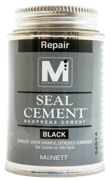 Seal Cement Black 4 oz.