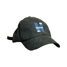Ball cap,  black with Halcyon logo