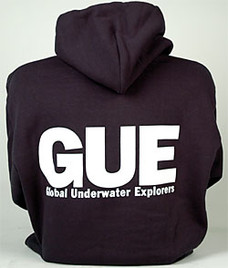 GUE Zipper Hoodie