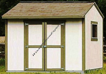 STORAGE SHED 10' X 8' UTILITY HOUSE GABLE BUILDING PDF Download Plans SO YOU CAN GET IT NOW! Detailed Step By Step DIY Patterns SO EASY BEGINNERS LOOK LIKE EXPERTS by WoodPatternExpert; ProStore