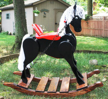 ROCKING HORSE PDF Download Plans SO YOU CAN GET IT NOW! Detailed Step By Step DIY Patterns SO EASY BEGINNERS LOOK LIKE EXPERTS by WoodPatternExpert; ProStore
