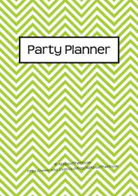 GREEN 2 - Party Planner - Instant Download