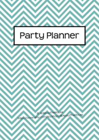 BLUE 2 - Party Planner - Instant Download