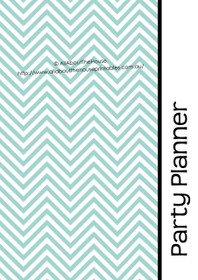 BLUE 1 - Party Planner - Instant Download - EDITABLE