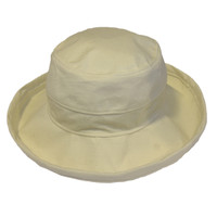 Natural Cotton - Wide Brim - The Noosa Hat