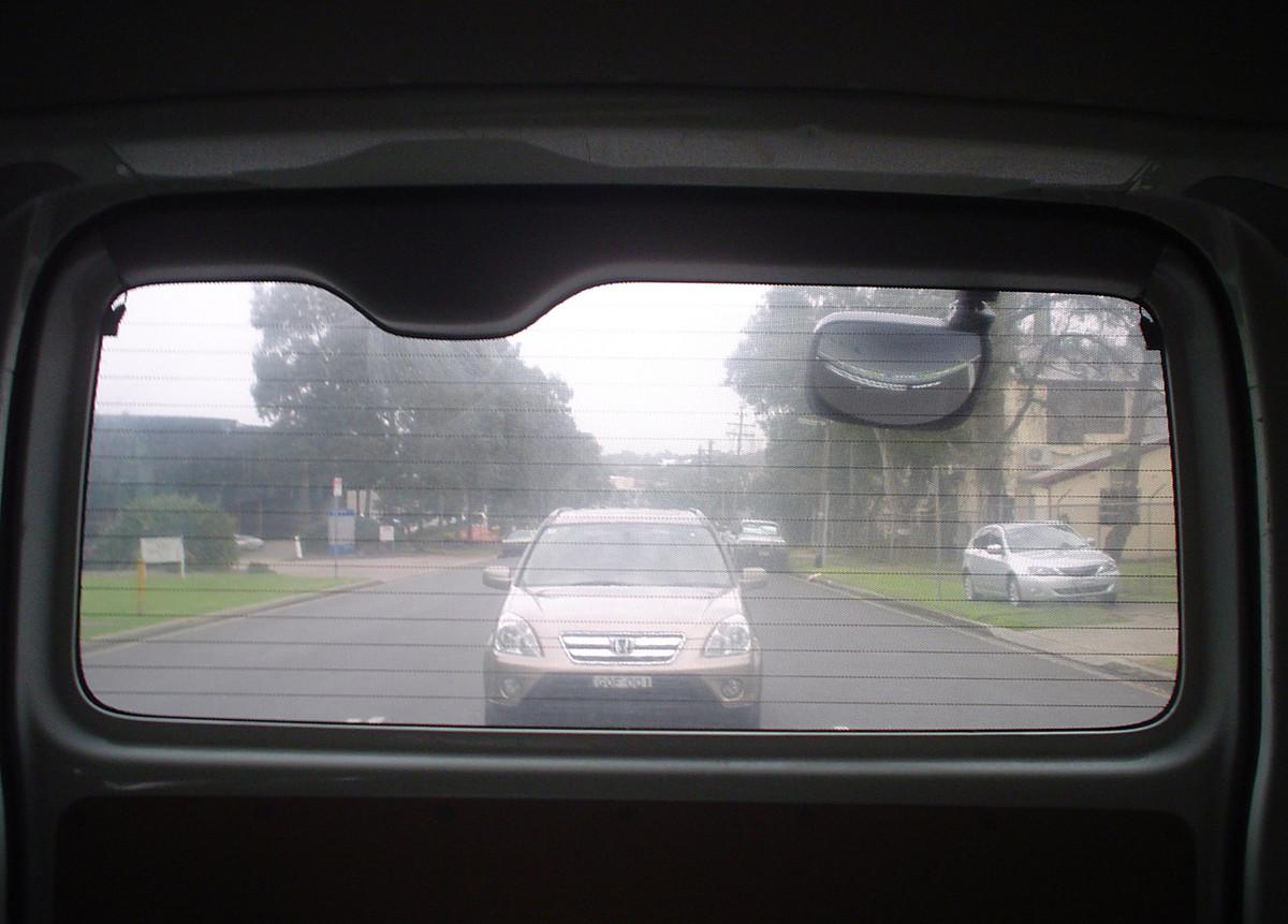 how to break car window from inside