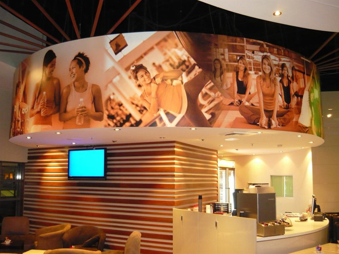 Move Fitness Bulkhead Wall Graphics
