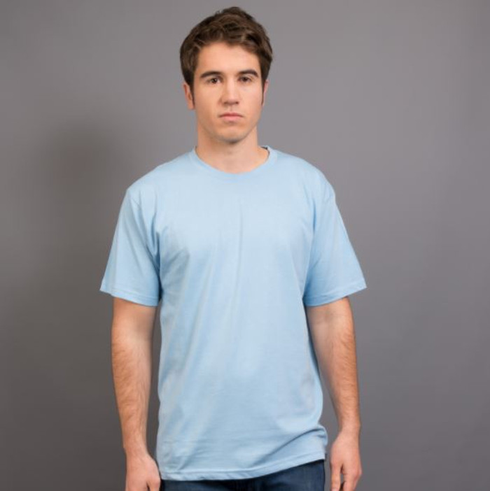 Mens Surf T-Shirt (Sky)