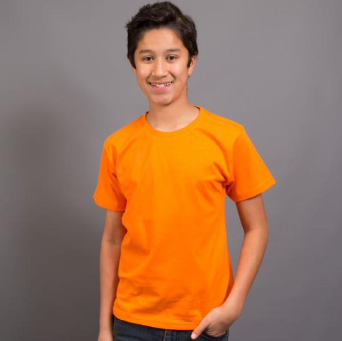 Kids Surf T-Shirt (Orange)