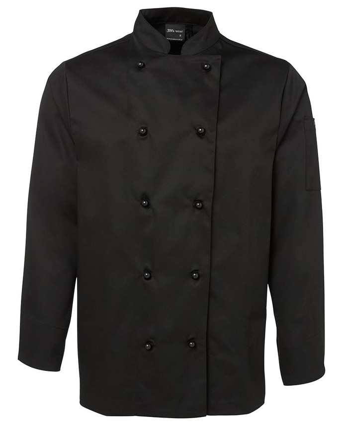 Chefs L/S Jacket (Black)