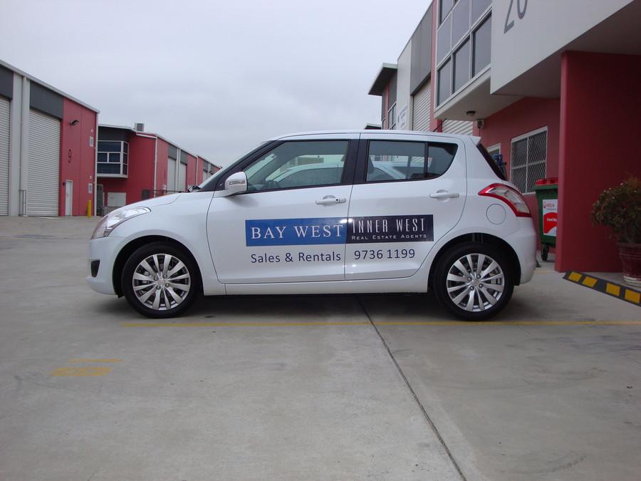 BayWest Inner West Suzuki Alto Graphics