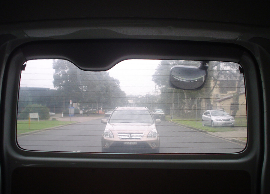 View from Inside vehicle