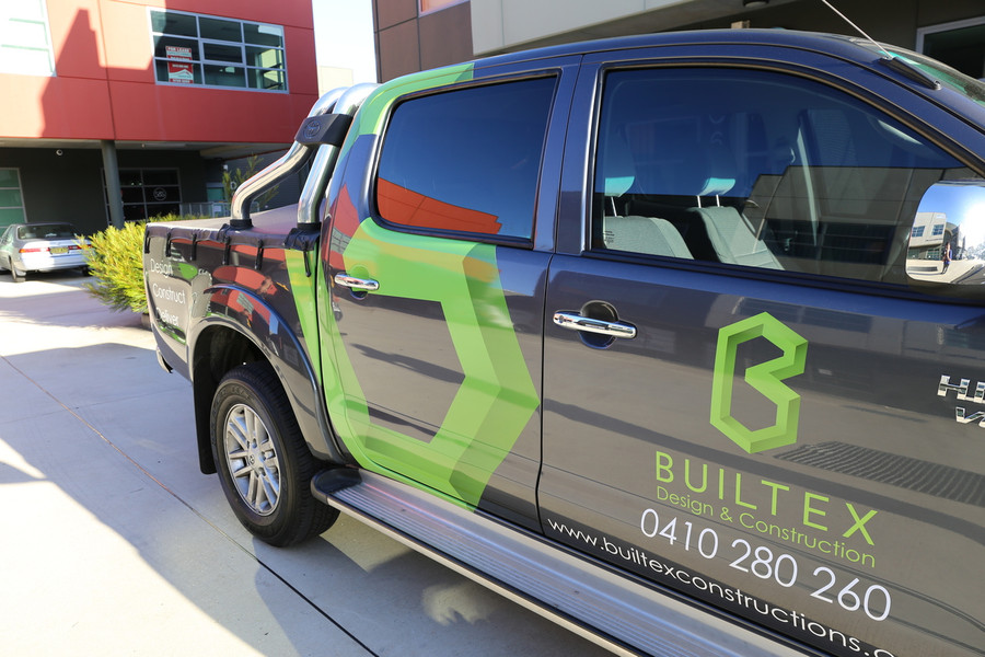 Builtex Ute with High Quality Cast Vinyl