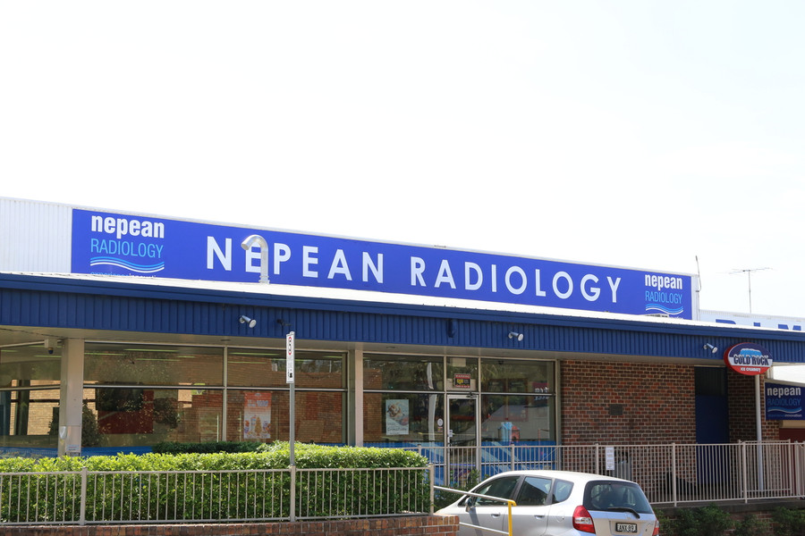 Nepean Radiology Banner with Kedar Roping and Sail Track