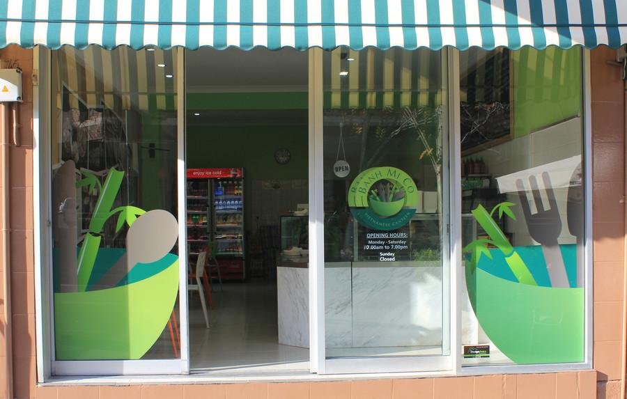Banh Mi Co Shop Front Contour Cut