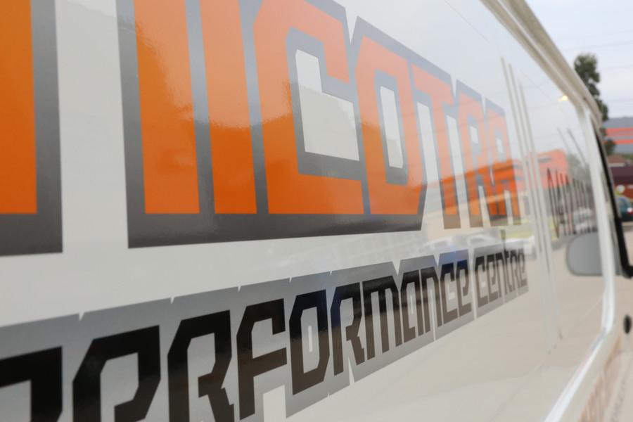Nicotra Cast Vinyl Contour Cut