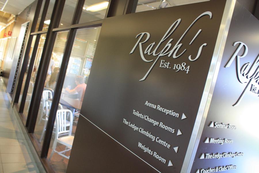 Ralph's Aluminium 3D Sign