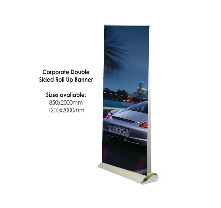 Corporate Double Sided Roll Up Banner
