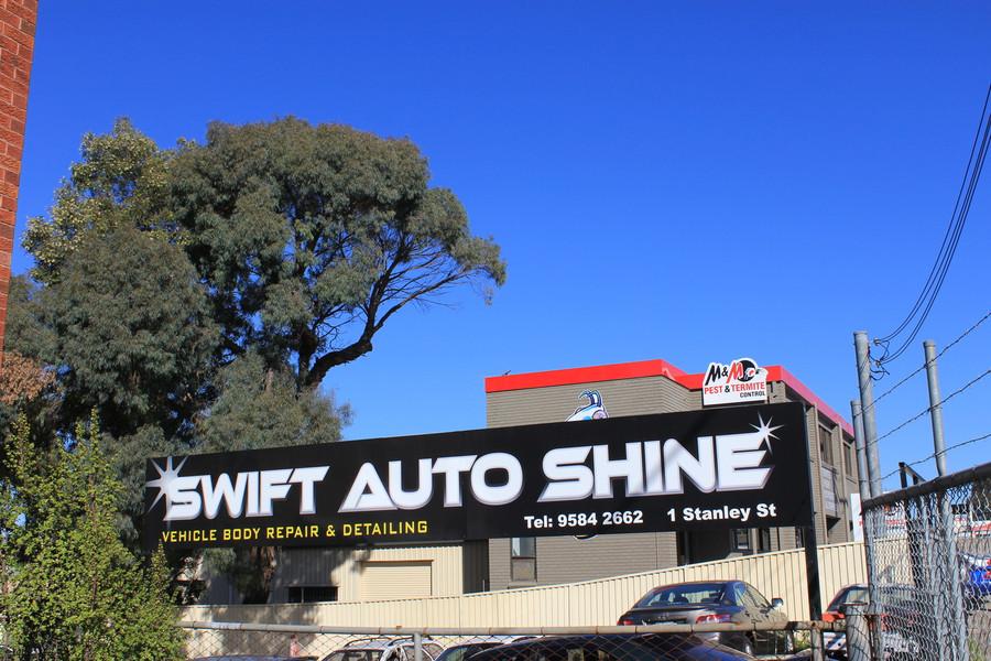 Swift External Signage