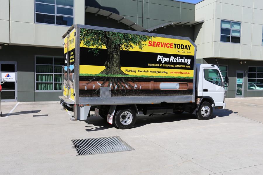 Signage Solutions - Fleet Vehicle Graphics