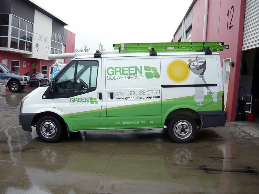 Green Solar 1/2 Wrap