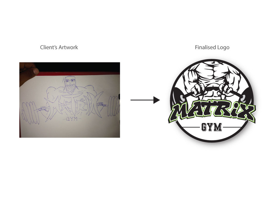 Turning your concepts/ideas to logo