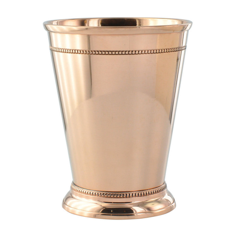 Wholesale 25 Pack - 12oz Solid Copper Mint Julep Cups by Paykoc