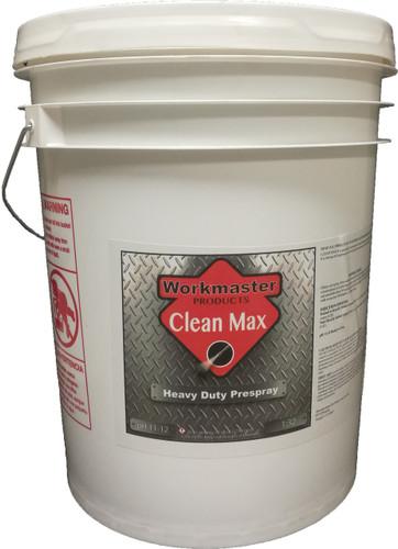 CLEAN MAX - HEAVY DUTY PRESPRAY - 5 GAL, WORKMASTER