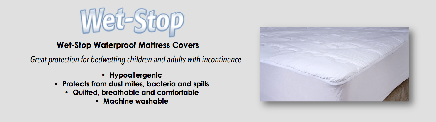 Wet-Stop waterproof mattress covers