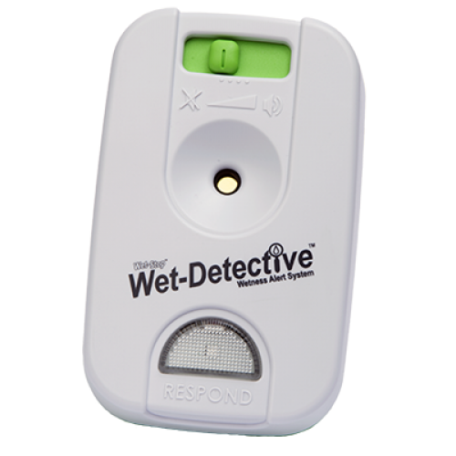 Wet-detective alarm unit for the wetdetective alarm pad.