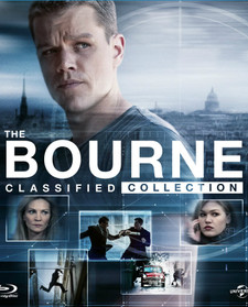 The Bourne Classified 4-Movie Collection - UV HDX (Digital Code)
