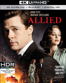 Allied - 4K UHD (Digital Code) - Please Read Description