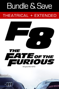 The Fate of the Furious: Bundle - UV HDX and iTunes (Digital Code)