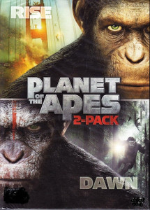 Planet of the Apes 2-pack - UV HDX or iTunes HD (Digital Code)