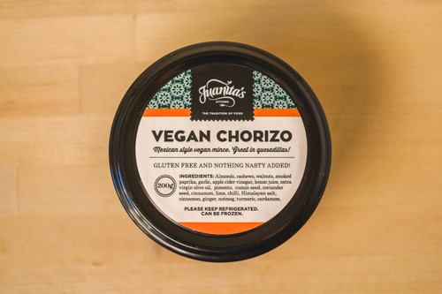 Juanitas Kitchen Vegan Chorizo