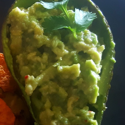 2 Ingredient Quick Avocado Dip