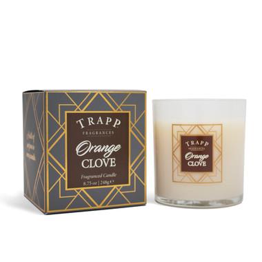 Trapp Fragrances Seasonal Orange Clove Candle