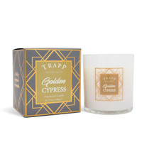 Trapp Fragrances Seasonal Golden Cypress Candle