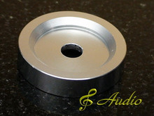 Solid Aluminum Turntable Adaptor for 45 RPM LP Records