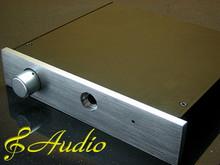 Solid Aluminum Case for DIY Head Phone Amp & Pre Amp