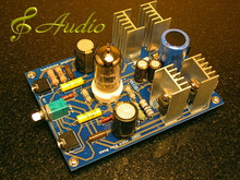 Single End Tube Head Phone Amp Kit - Plug and Play