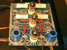 Finished Tube PreAmp PCB -design upgraded to Marantz M7