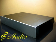 430x315x70mm All Aluminum Case for DIY Audio Equipment