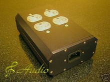 4-Pos Hi-End Audio Thick Aluminum Power Distributor