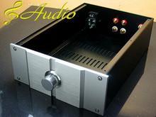 220x311x90mm All Aluminum Case for DIY Audio Equipment