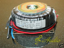 100W 9V+9V Toroid Power Transformer for DIY Audio